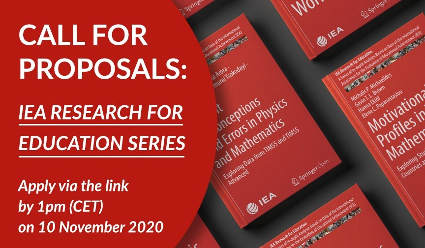 Call for proposals 12: Research for Education Series